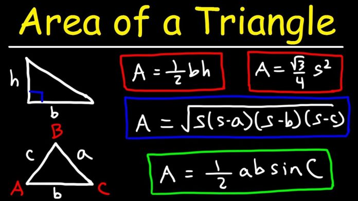 How Do You Find The Area of a Triangle?